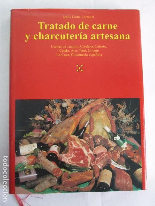 Libros de segunda mano: TRATADO DE CARNE Y CHARCUTERIA ARTESANA. JESUS LLONA LARRAURI. EDITA HEGAR MONSA 1998 - Foto 6 - 104992895