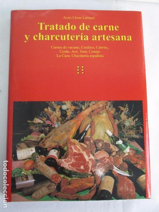 Libros de segunda mano: TRATADO DE CARNE Y CHARCUTERIA ARTESANA. JESUS LLONA LARRAURI. EDITA HEGAR MONSA 1998 - Foto 18 - 104992895
