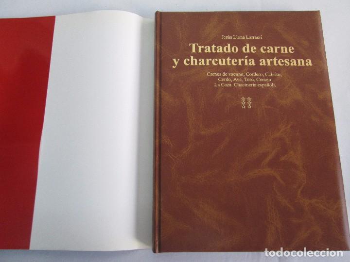 Libros de segunda mano: TRATADO DE CARNE Y CHARCUTERIA ARTESANA. JESUS LLONA LARRAURI. EDITA HEGAR MONSA 1998 - Foto 19 - 104992895