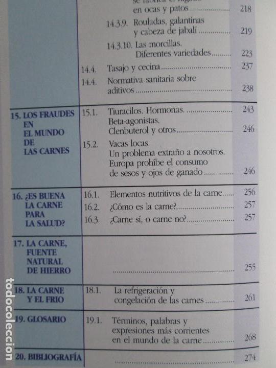 Libros de segunda mano: TRATADO DE CARNE Y CHARCUTERIA ARTESANA. JESUS LLONA LARRAURI. EDITA HEGAR MONSA 1998 - Foto 27 - 104992895