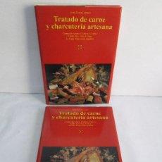 Libros de segunda mano: TRATADO DE CARNE Y CHARCUTERIA ARTESANA. JESUS LLONA LARRAURI. EDITA HEGAR MONSA 1998. Lote 104992895