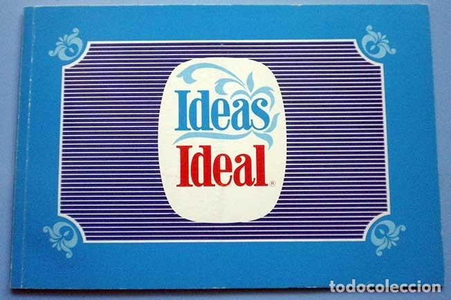 IDEAS IDEAL NESTLÉ 1979 RECETAS CON LECHE EVAPORADA (Libros de Segunda Mano - Cocina y Gastronomía)