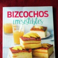 Livres d'occasion: BIZCOCHOS IRRESISTIBLES. PASTELERÍA CREATIVA. Lote 105781951