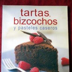 Livres d'occasion: TARTAS, BIZCOCHOS Y PASTELES CASEROS. SUSAETA. Lote 105782075