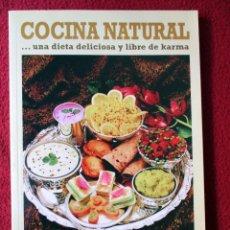 Libros de segunda mano - Cocina Natural. Una dieta deliciosa y libre de Karma - 105782271