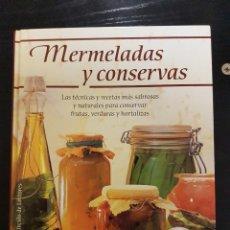 Libros de segunda mano: MERMELADAS Y CONSERVAS. Lote 227217660