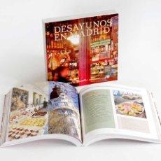 Libros de segunda mano: DESAYUNOS EN MADRID: DEL CHURRO AL BRUNCH. NUEVO CON RECETAS. Lote 51584902