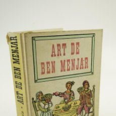 Libros de segunda mano: ART DE BEN MENJAR, MARTA SALVIA, EDITORIAL AEDOS, BARCELONA. 14X19CM. Lote 106048087