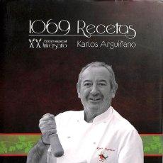 Libros de segunda mano: 1069 RECETAS DE COCINA. 20 ANIVERSARIO. Lote 106141686