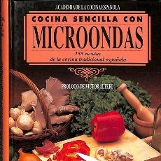 Libros de segunda mano: COCINA SENCILLA CON MICROONDAS. COCINA SEN.MICR. Lote 106142120