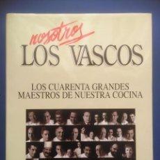 Libros de segunda mano: LOS CUARENTA GRANDES MAESTROS DE NUESTRA COCINA JUANJO MENDIOROZ 1997 LUR. Lote 106147539