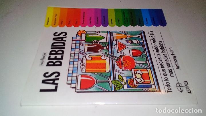 LAS BEBIDAS-ANTHONY HERN-TODO LO QUE NECESITAS SABER SOBRE LAS MAS VARIADAS BEBIDAS (Libros de Segunda Mano - Cocina y Gastronomía)