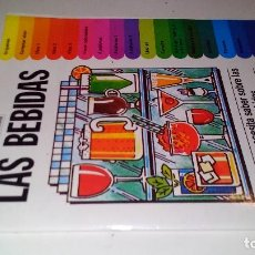 Libros de segunda mano: LAS BEBIDAS-ANTHONY HERN-TODO LO QUE NECESITAS SABER SOBRE LAS MAS VARIADAS BEBIDAS. Lote 108669083