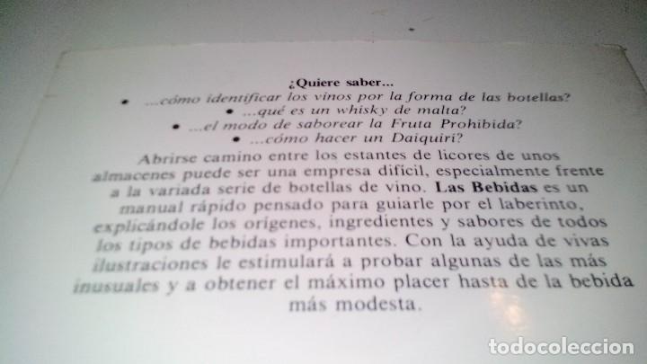 Libros de segunda mano: LAS BEBIDAS-ANTHONY HERN-TODO LO QUE NECESITAS SABER SOBRE LAS MAS VARIADAS BEBIDAS - Foto 3 - 108669083