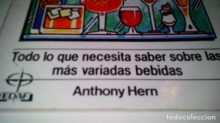 Libros de segunda mano: LAS BEBIDAS-ANTHONY HERN-TODO LO QUE NECESITAS SABER SOBRE LAS MAS VARIADAS BEBIDAS - Foto 4 - 108669083
