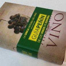Libros de segunda mano: 2008 - JOSÉ PEÑÍN - HISTORIA DEL VINO. Lote 109895167