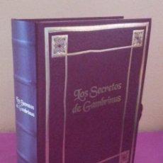 Libros de segunda mano: LOS SECRETOS DE GAMBRINUS - LOS SECRETOS DEL MUNDO CERVECERO Y DE NUESTRA COCINA. Lote 110475719