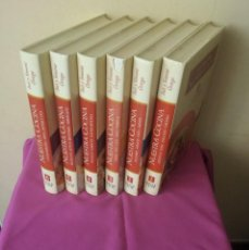 Libros de segunda mano: INES Y SIMONE ORTEGA - NUESTRA COCINA 6 TOMOS - ESPASA CALPE 1995. Lote 110480267