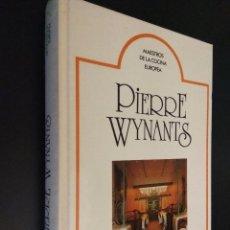 Libros de segunda mano: PIERRE WYNANTS. COMME CHEZ SOI. MAESTROS DE LA COCINA EUROPEA. Lote 110652607