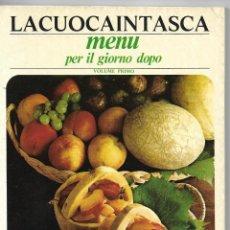 Libros de segunda mano: LA CUOCA IN TASCA - MENU PER IL GIORNO DOPO - 1973. Lote 111577271