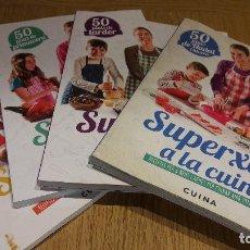 Libros de segunda mano: SUPERXEFS A LA CUINA ! 200 RECEPTES PER A NENS I NENES PER CUINAR AMB TOTA LA FAMILIA. / OCASIÓN.. Lote 111954615