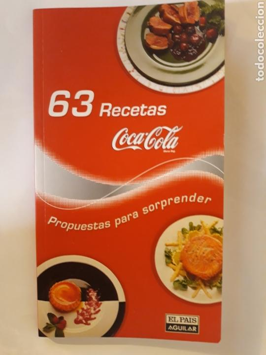 libros cocina 63 recetas coca cola propuestas p - Comprar Libros de ...