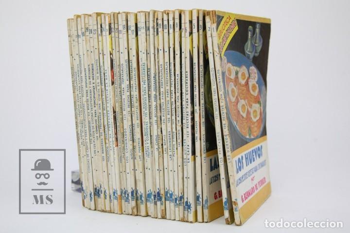 Libros de segunda mano: Conjunto De 33 Libros Antiguos - Biblioteca El ama De casa - Editorial Molino - Años 30 - Foto 2 - 112336123