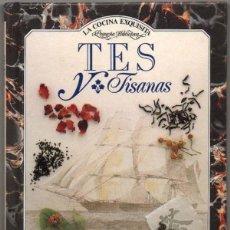 Libros de segunda mano: TES Y TISANAS - JILL NORMAN - ILUSTRADO - PEQUEÑO FORMATO *. Lote 113176643