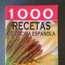 Libros de segunda mano: 1000 RECETAS DE COCINA ESPAÑOLA. Lote 139613092