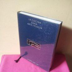 Libros de segunda mano: ARNOLD ZABERT - LA COCINA SANA: ARTE Y PLACER - EL GRAN LIBRO AMC 1991. Lote 113447115