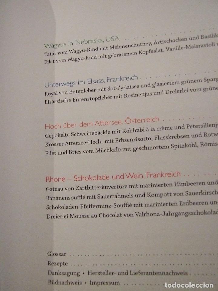 Libros de segunda mano: KULINARISCHE ENTDECKUNGSREISE CLAUDIO URRU - MEDIA SERVICE STUTTGART 2007 - LIBRO DE COCINA - Foto 3 - 113623043