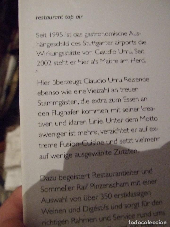 Libros de segunda mano: KULINARISCHE ENTDECKUNGSREISE CLAUDIO URRU - MEDIA SERVICE STUTTGART 2007 - LIBRO DE COCINA - Foto 4 - 113623043