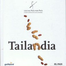 Libros de segunda mano: COCINA PAÍS POR PAÍS. TOMO 19. TAILANDIA. Lote 113993339