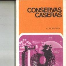 Libros de segunda mano: CONSERVAS CASERAS. Mª. DEL PILAR BUENO. Lote 83842164