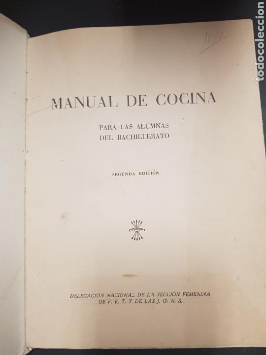 Libros de segunda mano: Cocina - seccion femenina de fet y jons - tdk143 - Foto 2 - 115886270