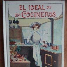 Livros em segunda mão: EL IDEAL DE LOS COCINEROS. Lote 116172587