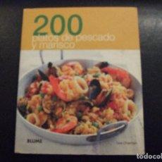 Libros de segunda mano: 200 PLATOS DE PESCADO Y MARISCO - GEE CHARMAN - BLUME 2010. Lote 116976035