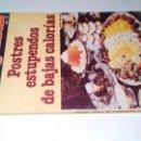 Libros de segunda mano: POSTRES ESTUPENDOS DE BAJAS CALORIAS-MINI LIBROS PROTAGONISTAS-Nº 8. Lote 117315327