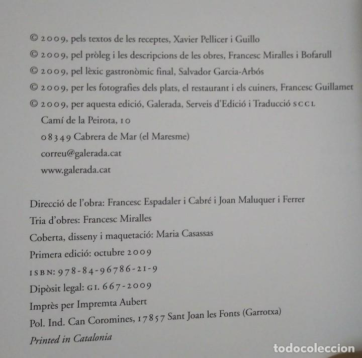 XAVIER PELLICER Grans plats per a trenta obres mestres de la pintura LLIBRE CUINA - LIBROS DE COCINA - 117639559