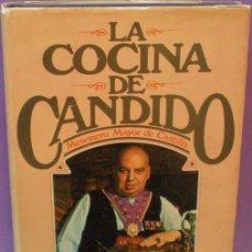Libros de segunda mano: LA COCINA DE CÁNDIDO / MESONERO MAYOR DE CASTILLA - 1ª EDICIÓN, 1980. Lote 118012395