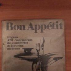 Libros de segunda mano: BON APPÉTIT. 1975. Lote 118193839