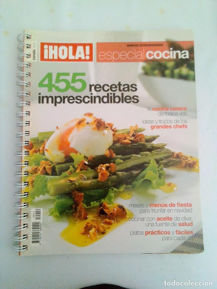 Libro Cocina | Libro Cocina Hola Especial Cocina 455 Rece Kaufen Bucher Uber