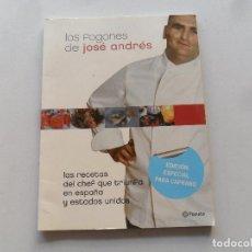 Libros de segunda mano: LOS FOGONES DE JOSÉ ANDRÉS - PLANETA. Lote 118656539