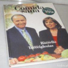 Libros de segunda mano: COMIDA SANA. CIRCULO DE LECTORES. 1999.. Lote 118656827