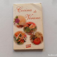 Libros de segunda mano: COCINA DE VERANO - MISTOL. Lote 118657843