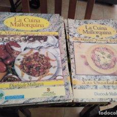 Libros de segunda mano: LA CUINA MALLORQUINA DE MESTRE TOMEU ESTEVA TOMO I MAS 10 FASCICULOS DEL TOMO II. Lote 119281079
