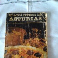 Libros de segunda mano: 73-PLATOS TIPICOS DE LA COCINA ASTURIANA, MARIA LUISA GARCIA, 1977. Lote 120696015