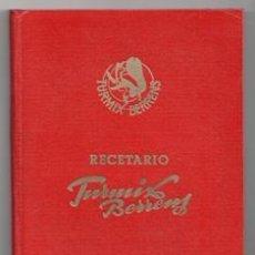 Libros de segunda mano: RECETARIO TURMIX BERRENS. Lote 120870380