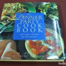 Libros de segunda mano: THE DINNER PARTY COOK BOOK - EDITED BY HILAIRE WALDEN - IDIOMA INGLÉS - CUB. Lote 121726803
