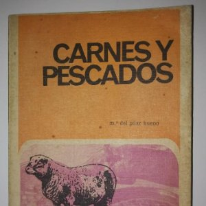 CARNES Y PESCADOS. Mª. del Pilar Bueno - 1969 - LIBROS DE COCINA